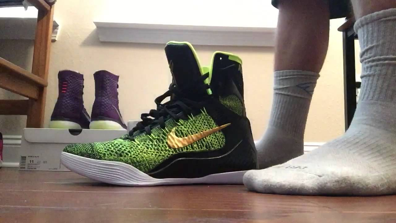 more photos d4a75 150fe Kobe 9 elite Nike outlet steal