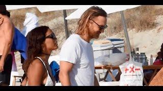 David Guetta y Jessica Ledon, amor bajo el sol