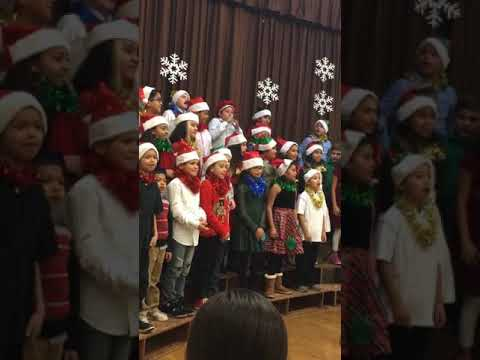 Bushnell way elementary school Christmas song