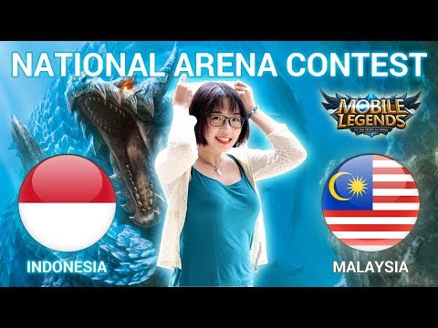 INDONESIA VS MALAYSIA - National Arena Contest Cast by Kimi Hime - 13/02/2018