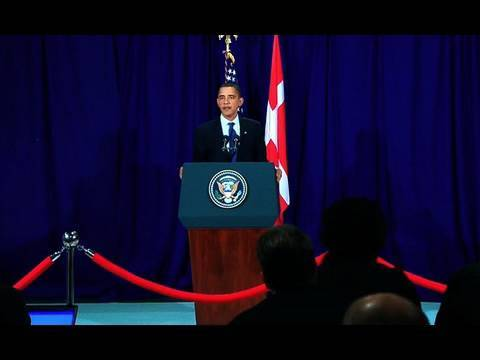 President Obama at Copenhagen Climate Change Conference