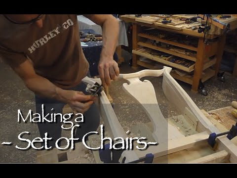 Queen Anne Chair Building Process by Doucette and Wolfe Furn