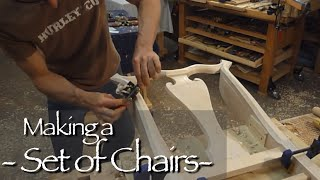 Queen Anne Chair Building Process By Doucette And Wolfe Furniture Makers