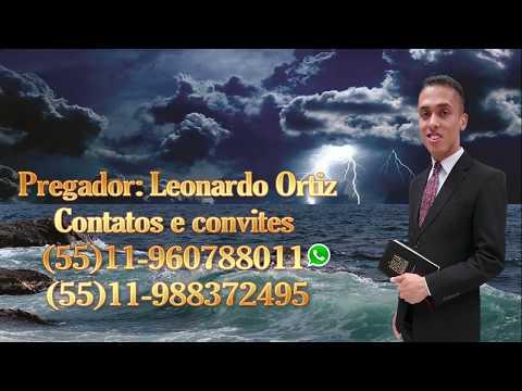 Jesus, Senhor Na Tempestade - Pregador: Leonardo Ortiz