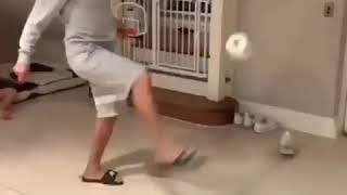 StayAtHomeChallenge video compilation life without Football italy