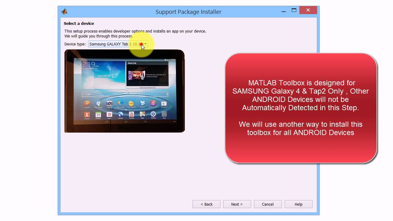 How to Download & Install MATLAB/SIMULINK Programming Toolbox for Android  Devices