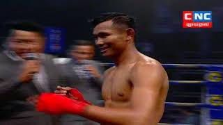 Kun Khmer, ឡុង សុភី Vs កេងកាត (ថៃ), Long Sophy Vs Kengkat (Thai), CNC boxing 1/3/2019
