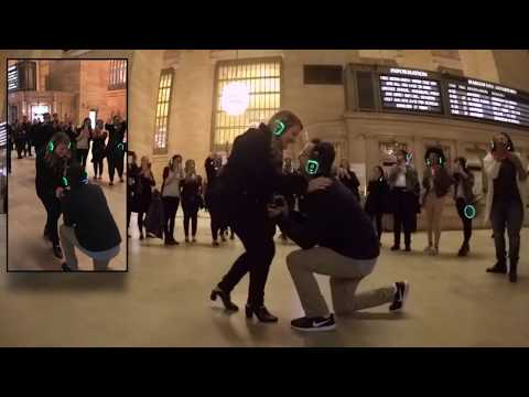 Silent Disco Proposal at Grand Central Terminal in New York
