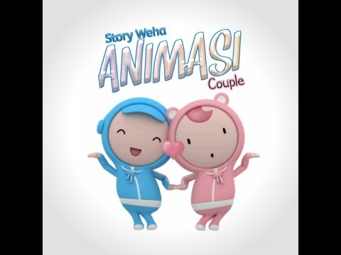 Story WA Animasi Couple (DJ HANING - Lagu Dayak)