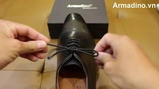 Hướng dẫn cách buộc dây giày tây cực đẹp, cực nhanh