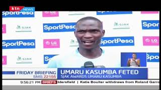 Umaru Kasumba bags Player of the Month Award