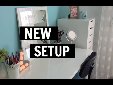 NEW SETUP!!!!!!! | Rearranging My Room & Building Furniture