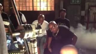"Khuli Chana ft Notshi ""Tswa Daar"" behind the scenes part 4"