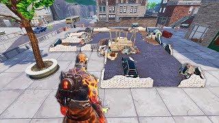 Ce Bâtiment va encore se faire détruire par EpicGames.. 😩 (Fortnite Saison 8)