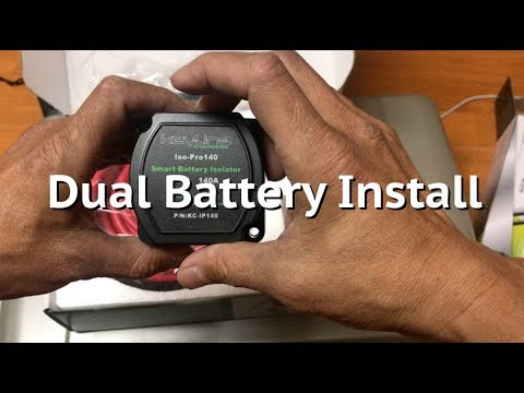 Dual Battery Isolator Install (Step by step)