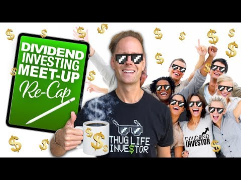Dividend Stock Meet-Up: Huge Investing Lessons & Insights