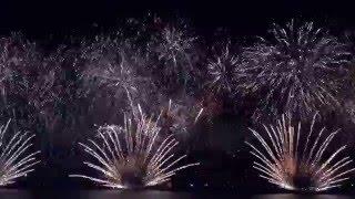 2016's New Year's Eve Fireworks at JBR The Beach Dubai