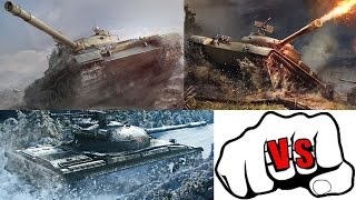 T-62A vs Object 140 vs Object 430 - World of Tanks