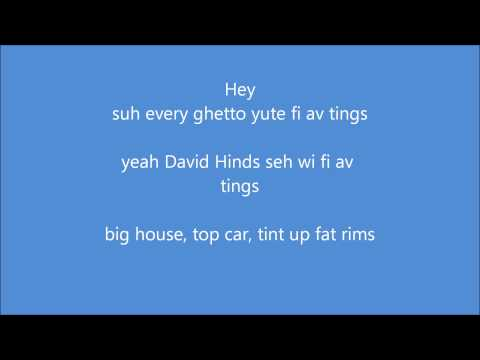 Jah Vinci- IN MY LIFE (lyrics)
