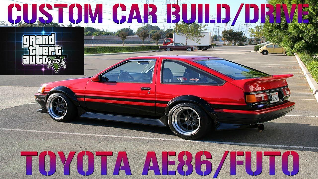 Gta Custom Car Build Toyota Futo Airport Drifting