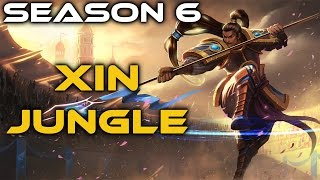 Ranked Xin Zhao Jungle - Full Gameplay Commentary with Anklespankin!