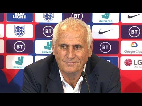 England 5-3 Kosovo - Bernard Challandes Full Post Match Press Conference - Euro 2020 Qualifiers