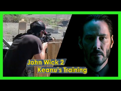 Keanu Reeves Training Taran Chapter 2 | Doovi