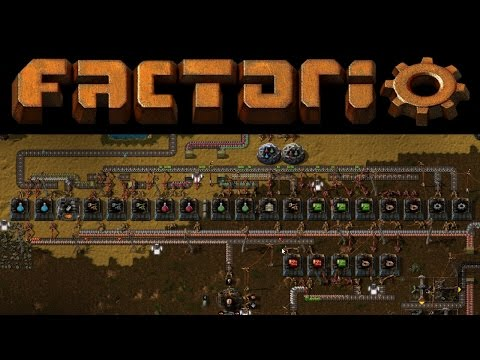 Factorio #8 - Smart Factory Line For All Science Packs (1,2,3 - Red, Green, Blue)