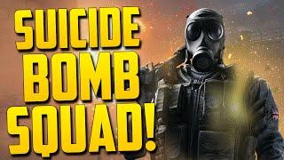 SUICIDE BOMB SQUAD! - Rainbow Six Siege Beta Funny Moments