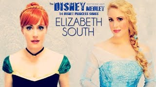 Repeat youtube video 14 Disney Princess Medley (Frozen, For the First Time, Let It Go & more) - ElizabethSouth