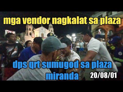 manila update mga vendor nagkalat sa plaza dps qrt sumugod sa plaza miranda
