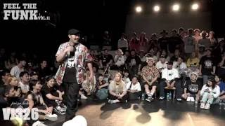 feel the funk vol.11 Locking side semi final hanai vs momoka (락킹사이드 4강 하나이vs모모카)