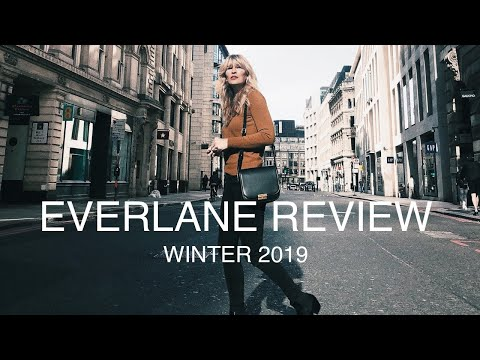 Everlane Review And Try On   Winter 2019   Sustainable Fashion AD