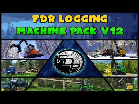 (FDR Logging) - Machine Pack - V12 - Public Release!