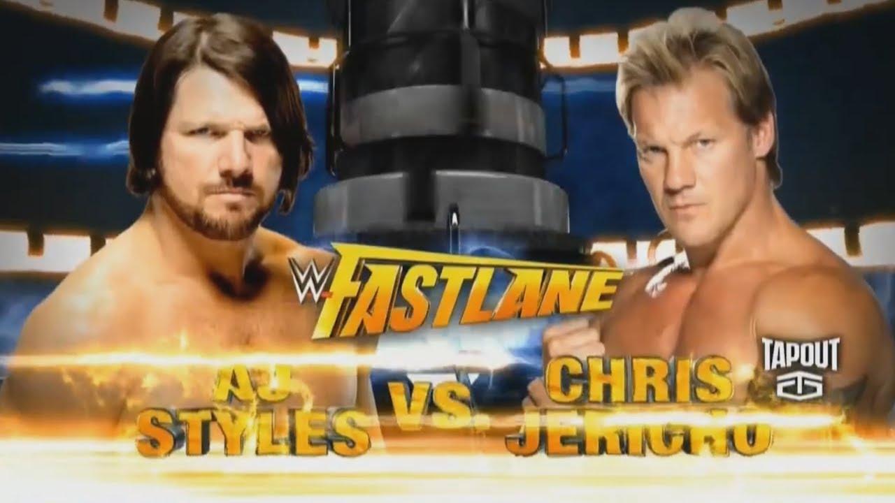 Download Aj Styles vs Chris Jericho Fastlane 2016 Highlights