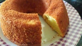 Fazendo um delicioso bolo de laranja super fácil