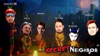 🤫 NIE UFAJ NIKOMU BO CIĘ ZDRADZI MOCNO   Secret Neighbor #04 /w ekipa