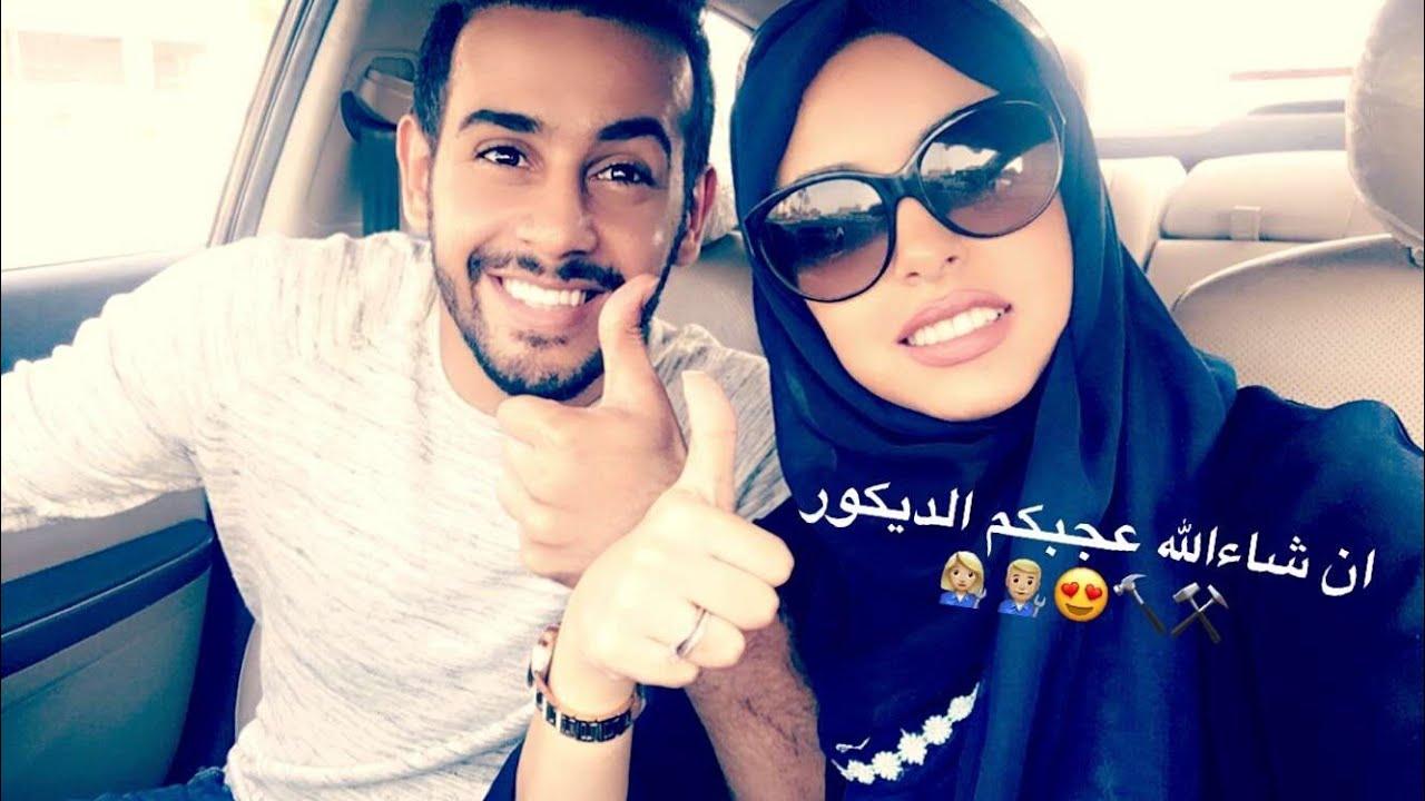 سنابات حسين بن محفوظ مع زوجته حنان Youtube