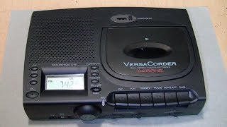 C.Crane VersaCorder quarter-speed stereo cassette recorder