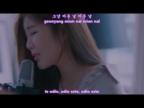 Lee Hae Ri (DAVICHI) - Hate that I Miss You MV [Sub Español + Hangul + Rom] HD
