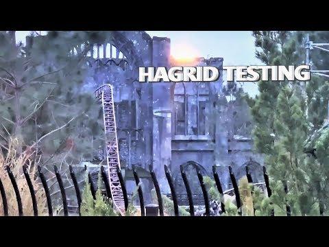 Hagrid's Motorbike TESTING!