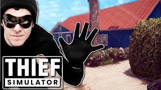BECOMING A THIEF SIM! - Thief Simulator Gameplay