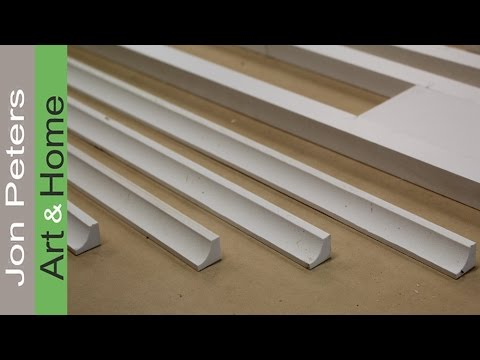 How to Make Molding with Azek, Williams and Hussey Molder Planer