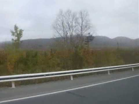 Road Apatity-Kirovsk