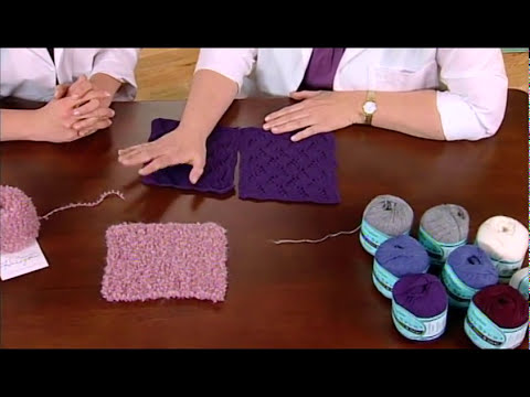 Learn About A Yarns Halo And Angora Yarns From Knitting Daily Tv