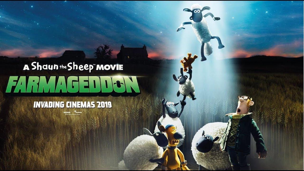 OVEČKA SHAUN VO FILME: FARMAGEDDON - v kinách od 17. októbra - trailer F1 (slovenský dabing)