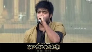 Singer Revath Song Performance @ Baahubali Audio Launch || Prabhas, SS Rajamouli