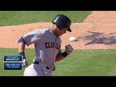 CLE@DET: Brantley belts a two-run home run