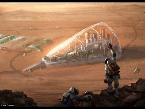 Amazing!!! Journey to Mars with landing. HD (Documentary)