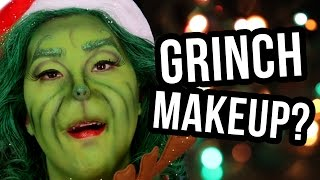GRINCH TRANSFORMATION?! (Lunchy Break)